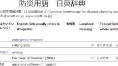 screenshot from online glossary