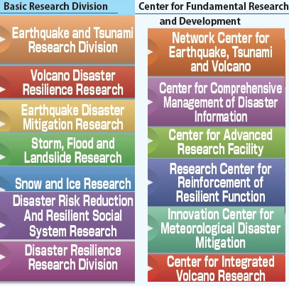 screenshot of research sections of the NIED